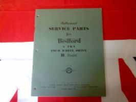 AUTHORISED SERVICE PARTS FOR BEDFORD TRUCK R MODEL BOOK